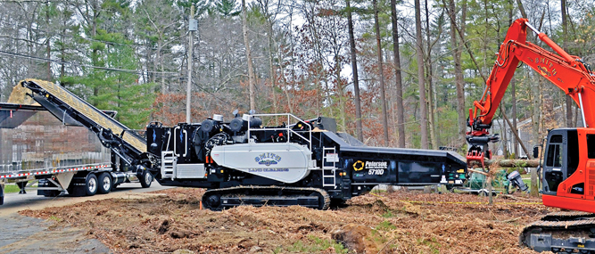Contractor Adds Grinding Operations: Bay State business goes