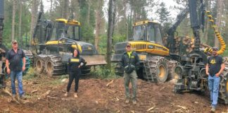 Four-Ponsse-Machines-Stan-Nelson-Jr-Logging