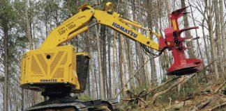 Komatsu Logging Machinary